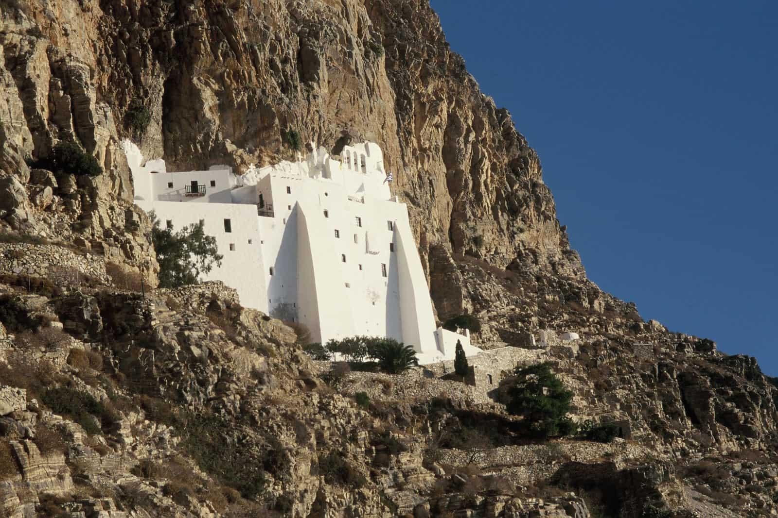 Amorgos Monastero Khozoviotissa 2