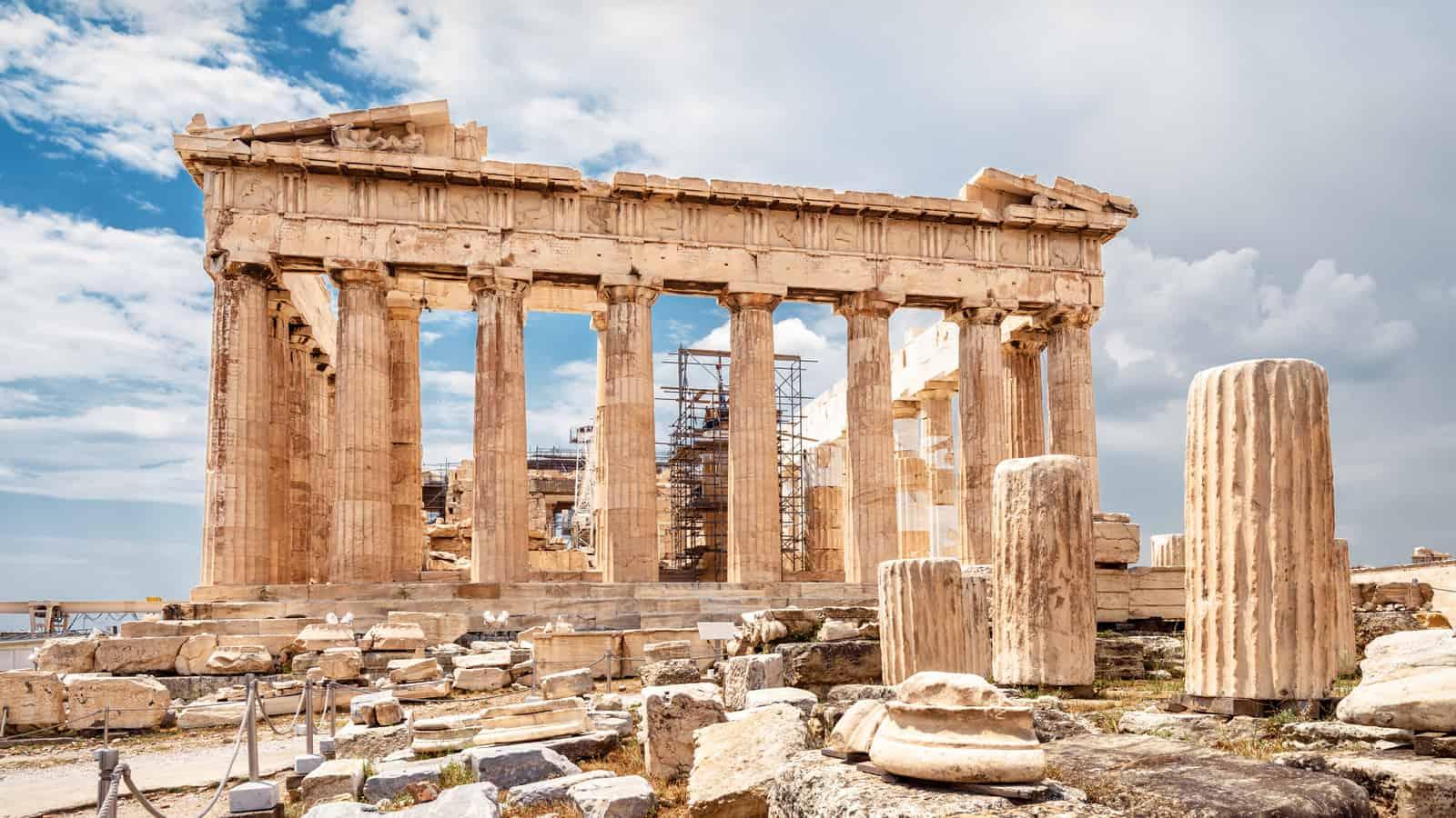atene partenone acropolis