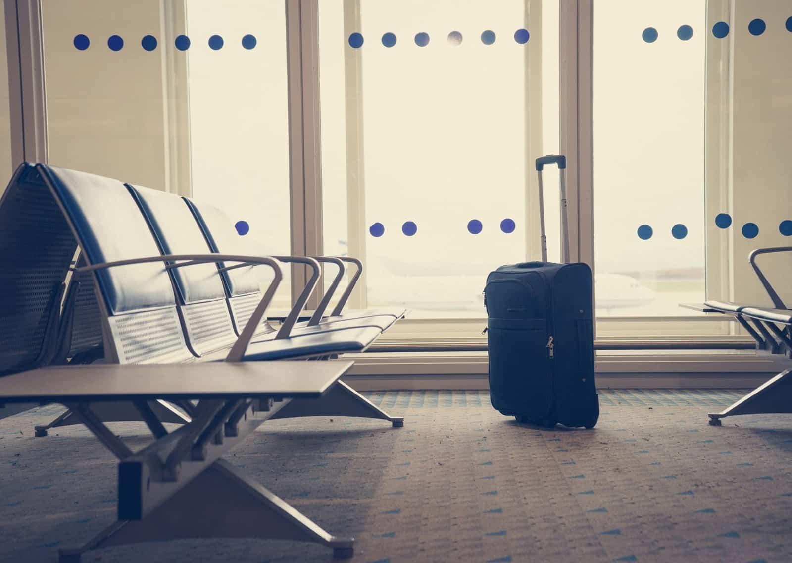 aeroporto sala attesa